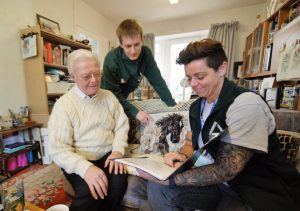 Groundwork Green Doctors providing energy efficiency advice to residents