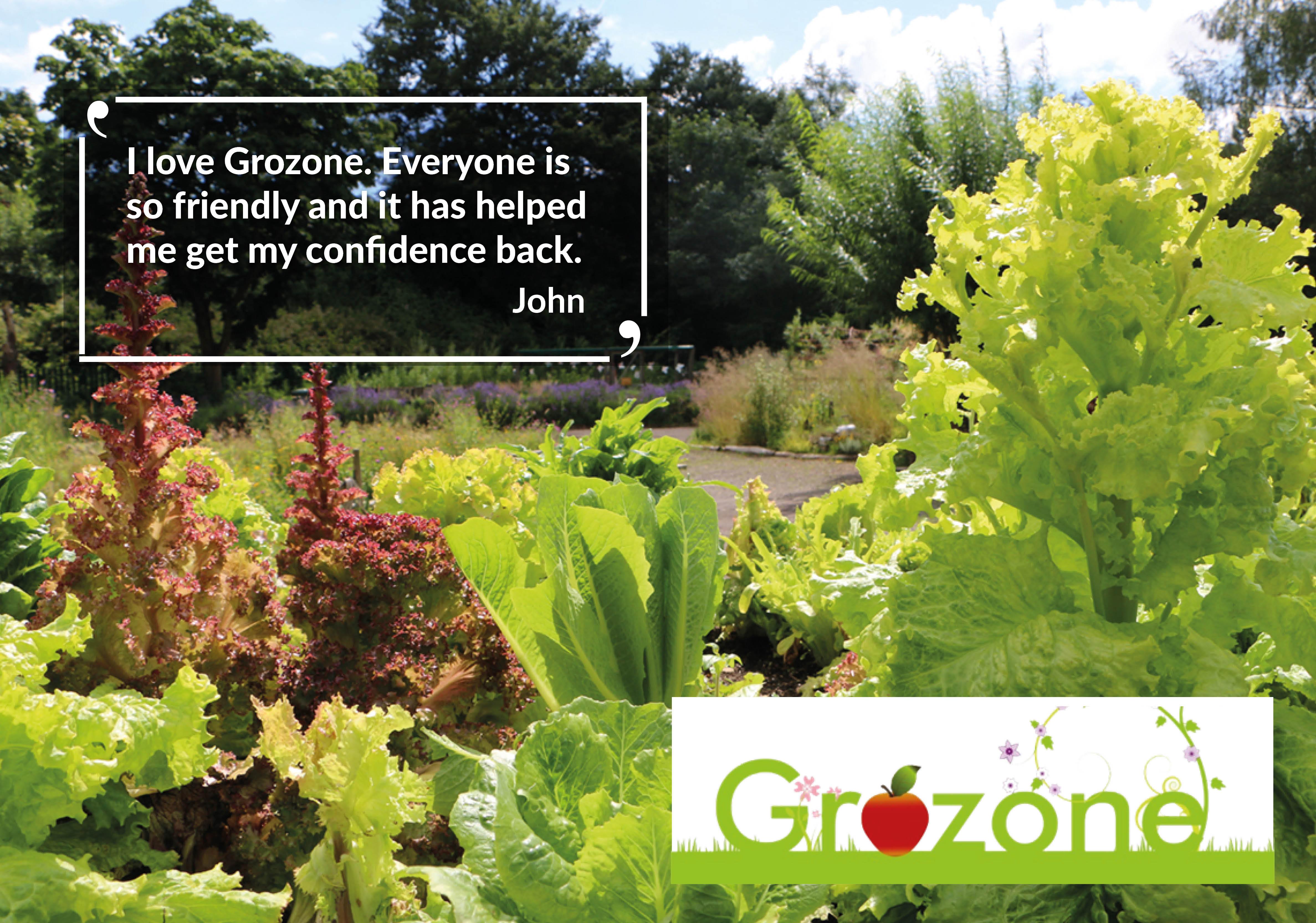Grozone Community Garden in Cheshire