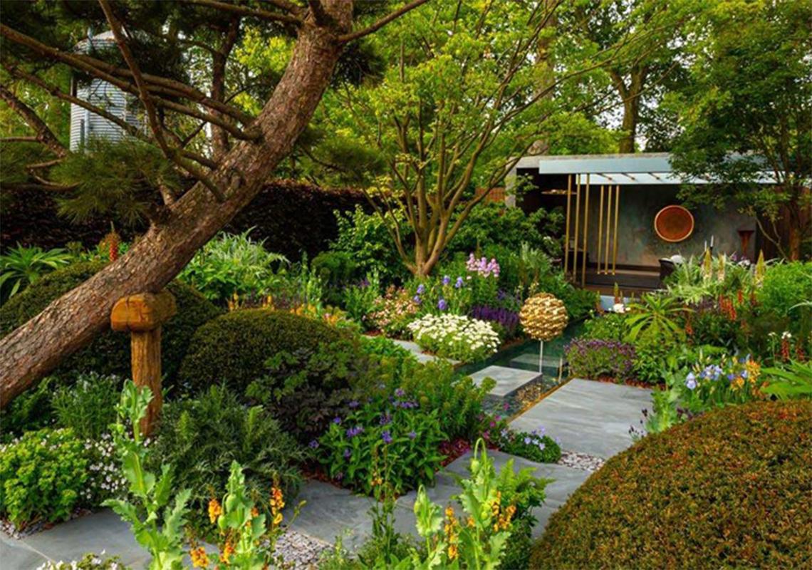 We re-purpose Morgan Stanley Garden from RHS Chelsea Flower Show 2019