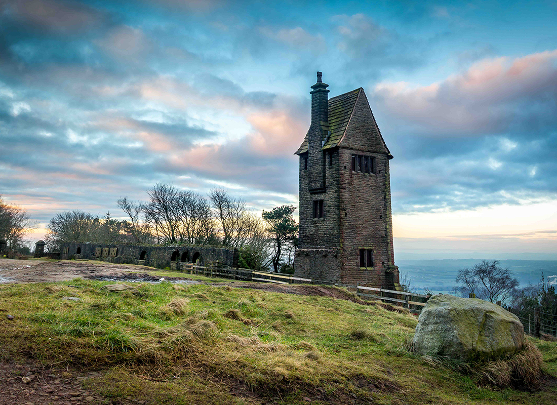 The pigeon tower at Rivington