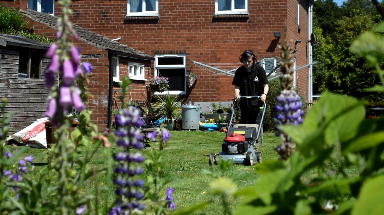 Selby Garden Enterprise mowing