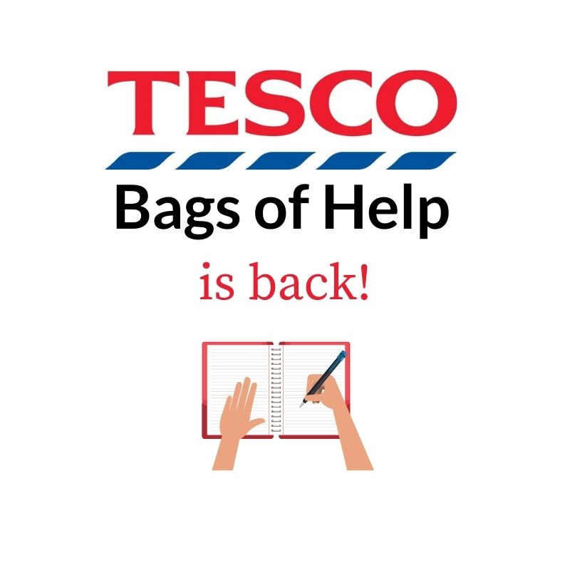 Tesco Bags of Help is open
