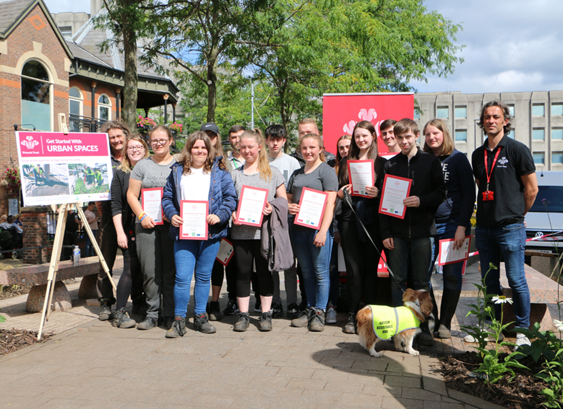 Town Centre Space Transformed By Young People From Warrington