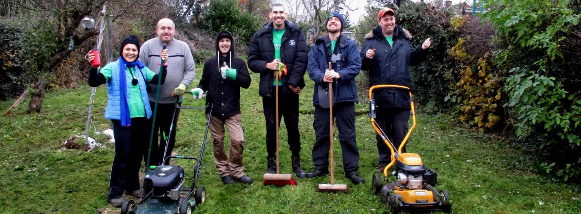 Green Aiders: free garden rescue