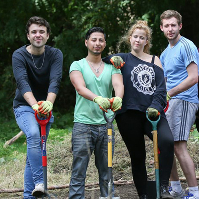 Find out about corporate volunteering in London