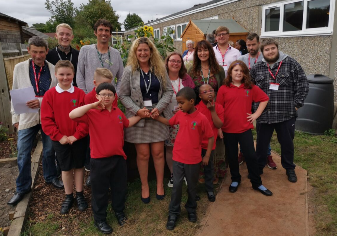 Colnbrook School has new outdoor space thanks to local volunteers