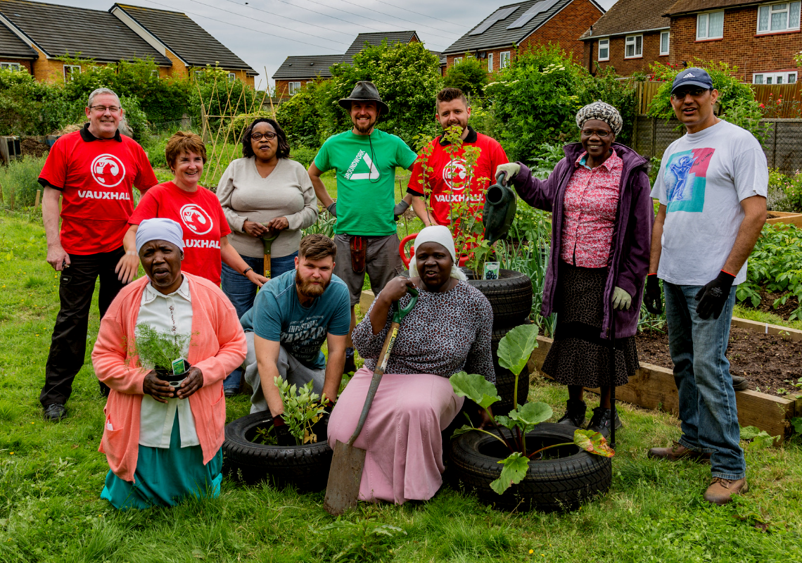 Groundwork and Vauxhall work together for World Environment Day