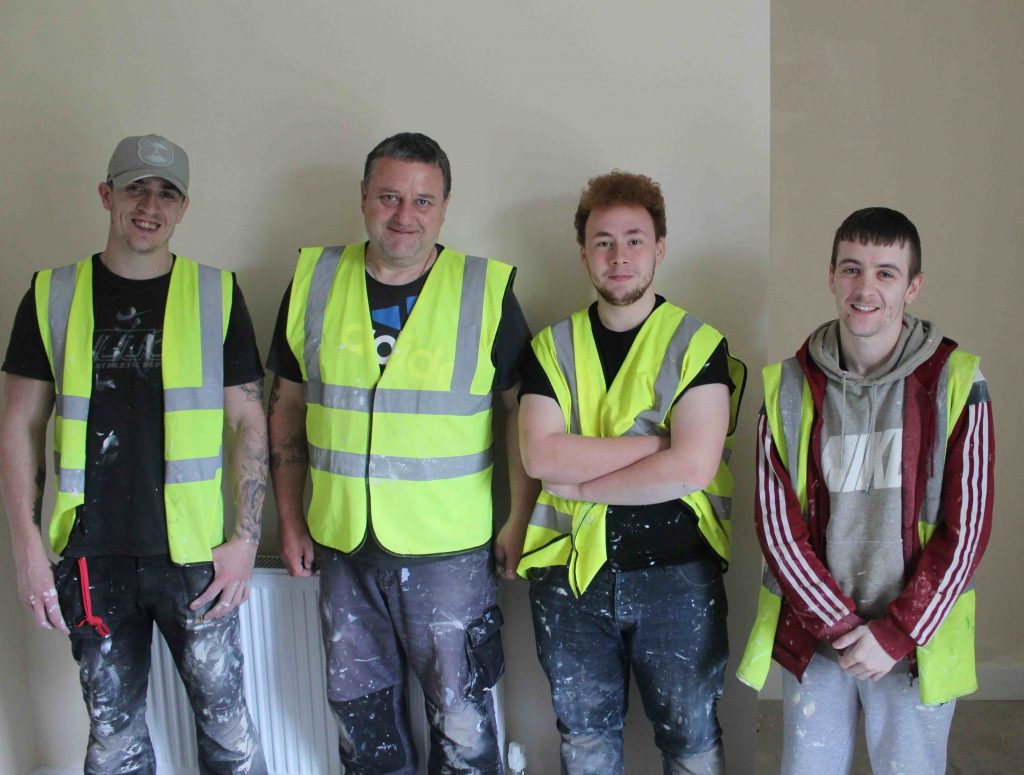 Groundwork Construction Trainees in Rochdale