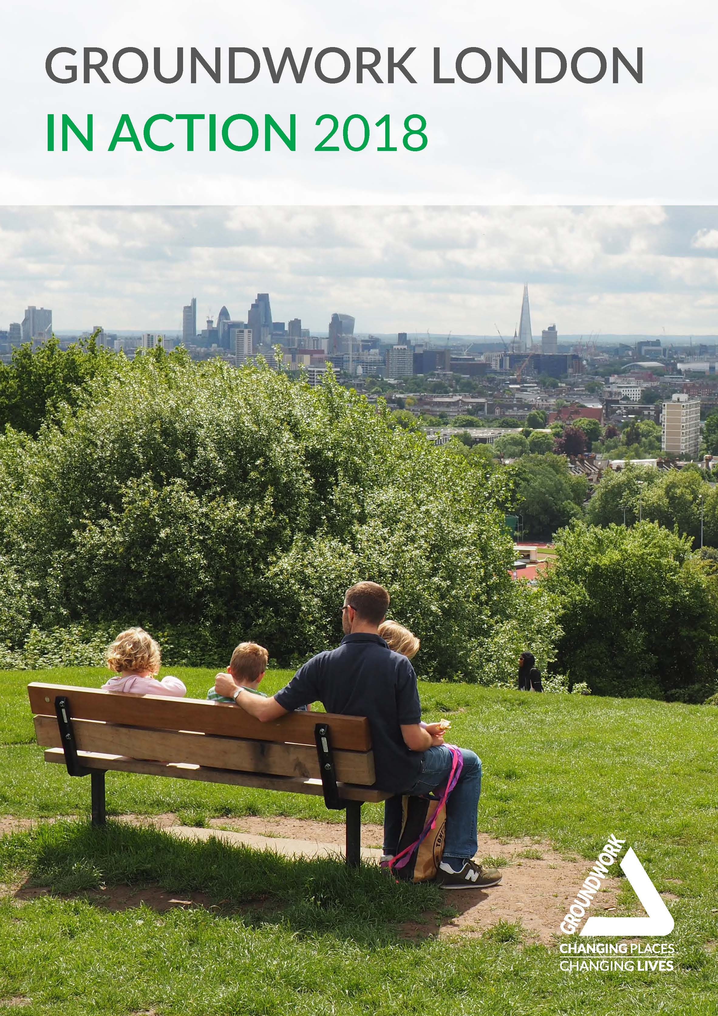 Groundwork London 2018 Impact Report cover