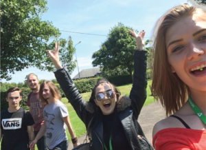 Young people on Prince's Trust programme