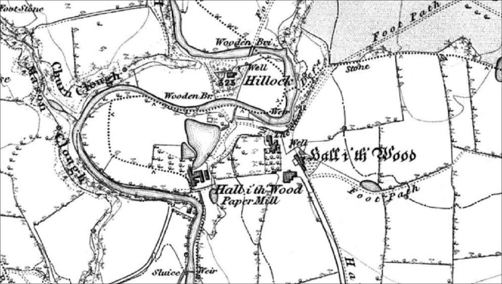 Map from 1848