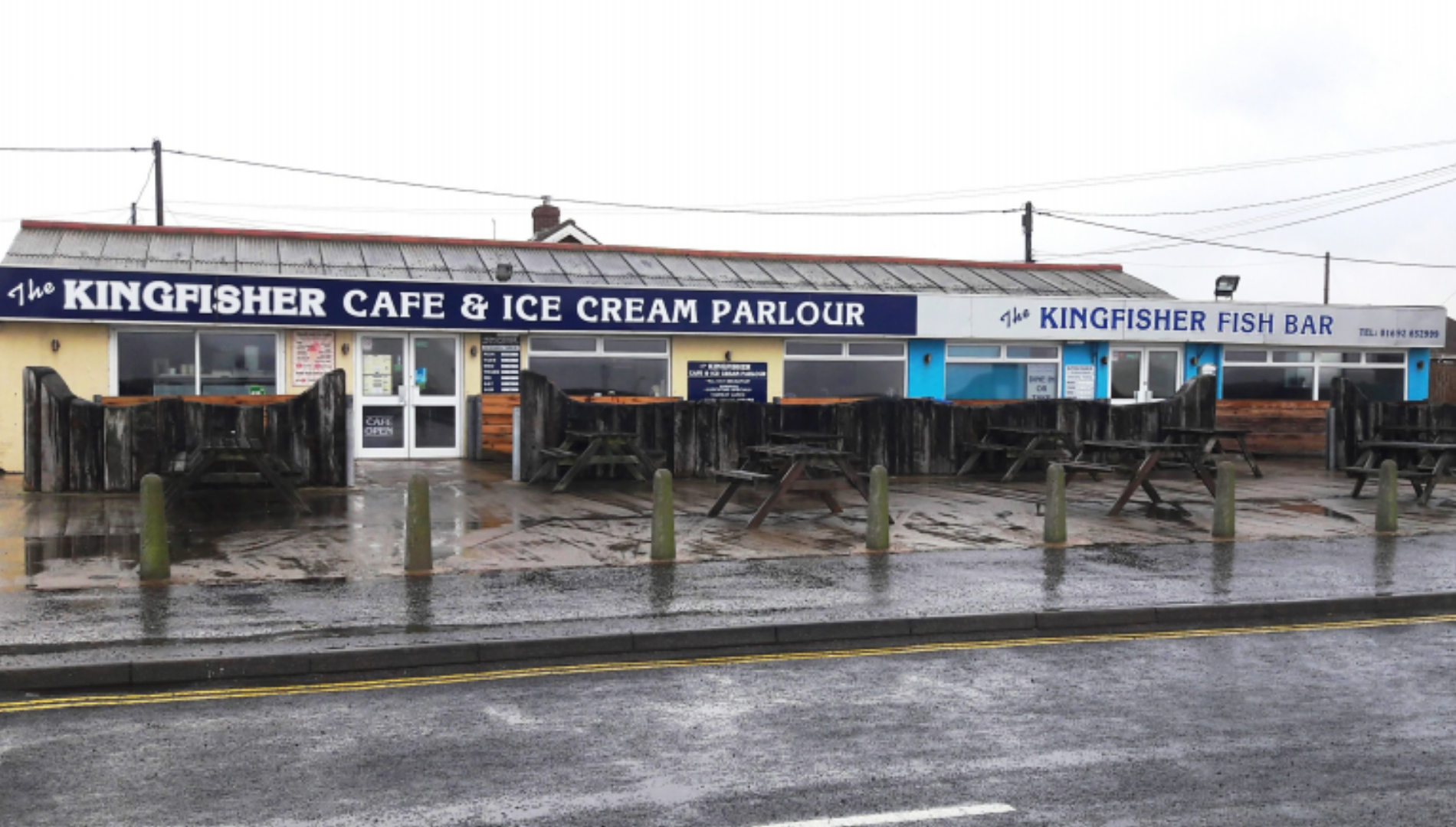 The Kingfisher Cafe's story: building our business' resilience against extreme weather conditions
