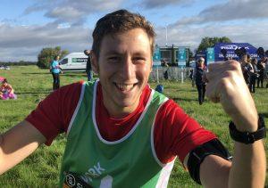 Great North Run participant