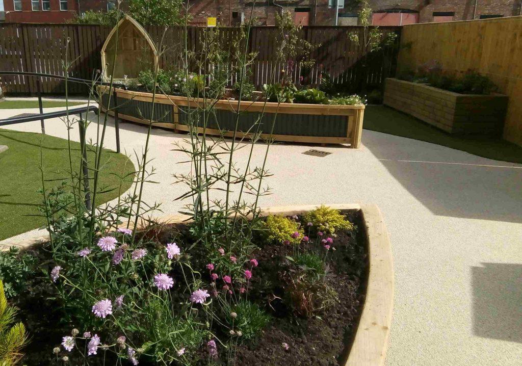 Tameside Age UK garden