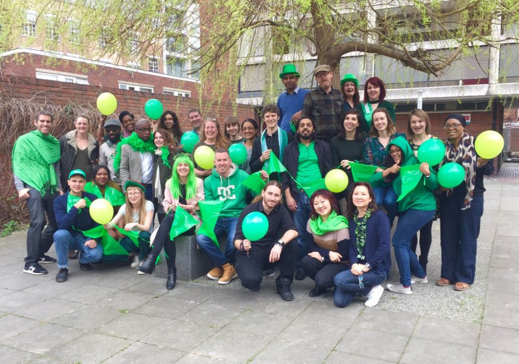 Go Green for Groundwork fundraisers