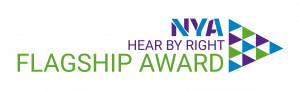 Hear by Right Award logo
