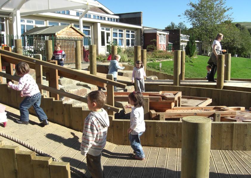 School Grounds Improvements: Delph Primary, Oldham