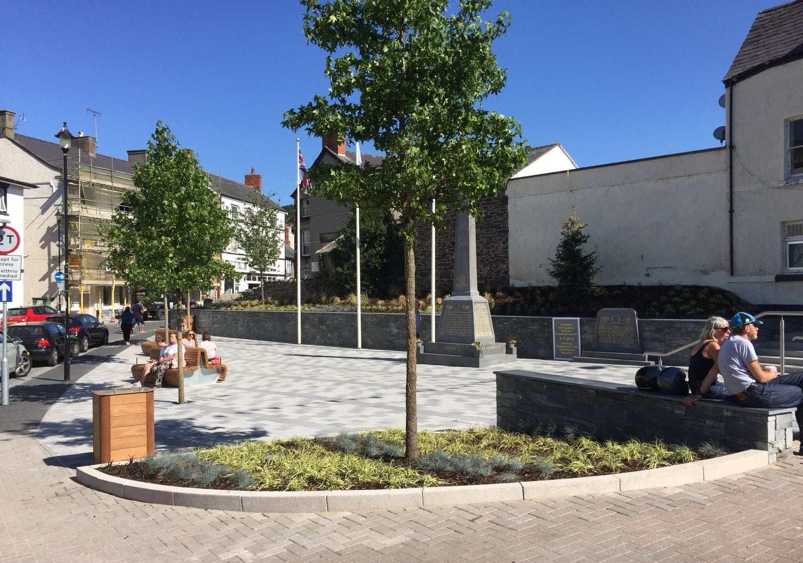 Case Study: Public Realm Re-design at Centenary Square, Llangollen