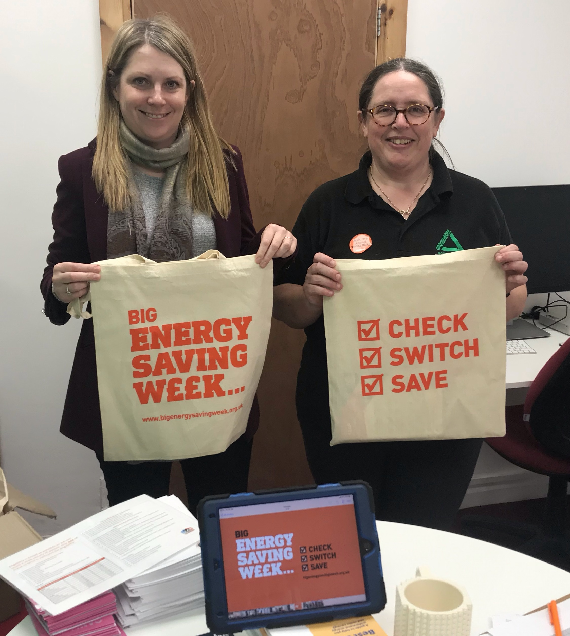 Groundwork North Wales – supporting Big Energy Saving Week with a week of great events