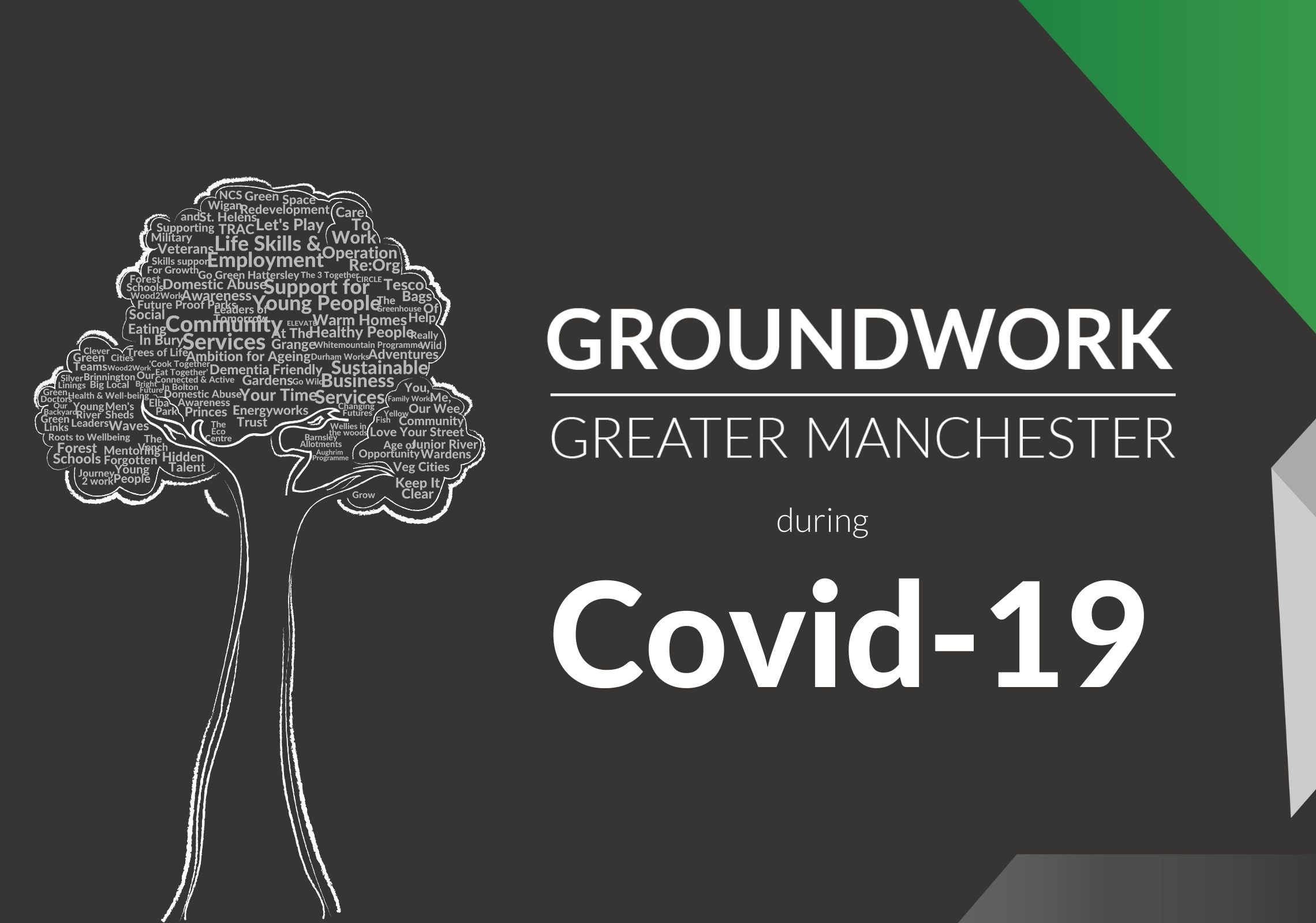 Covid19 – Impact on Groundwork Greater Manchester's local services & projects