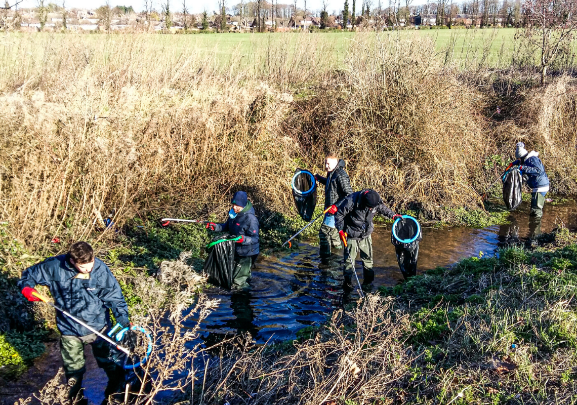 The Great British Spring Clean comes to your River Lea
