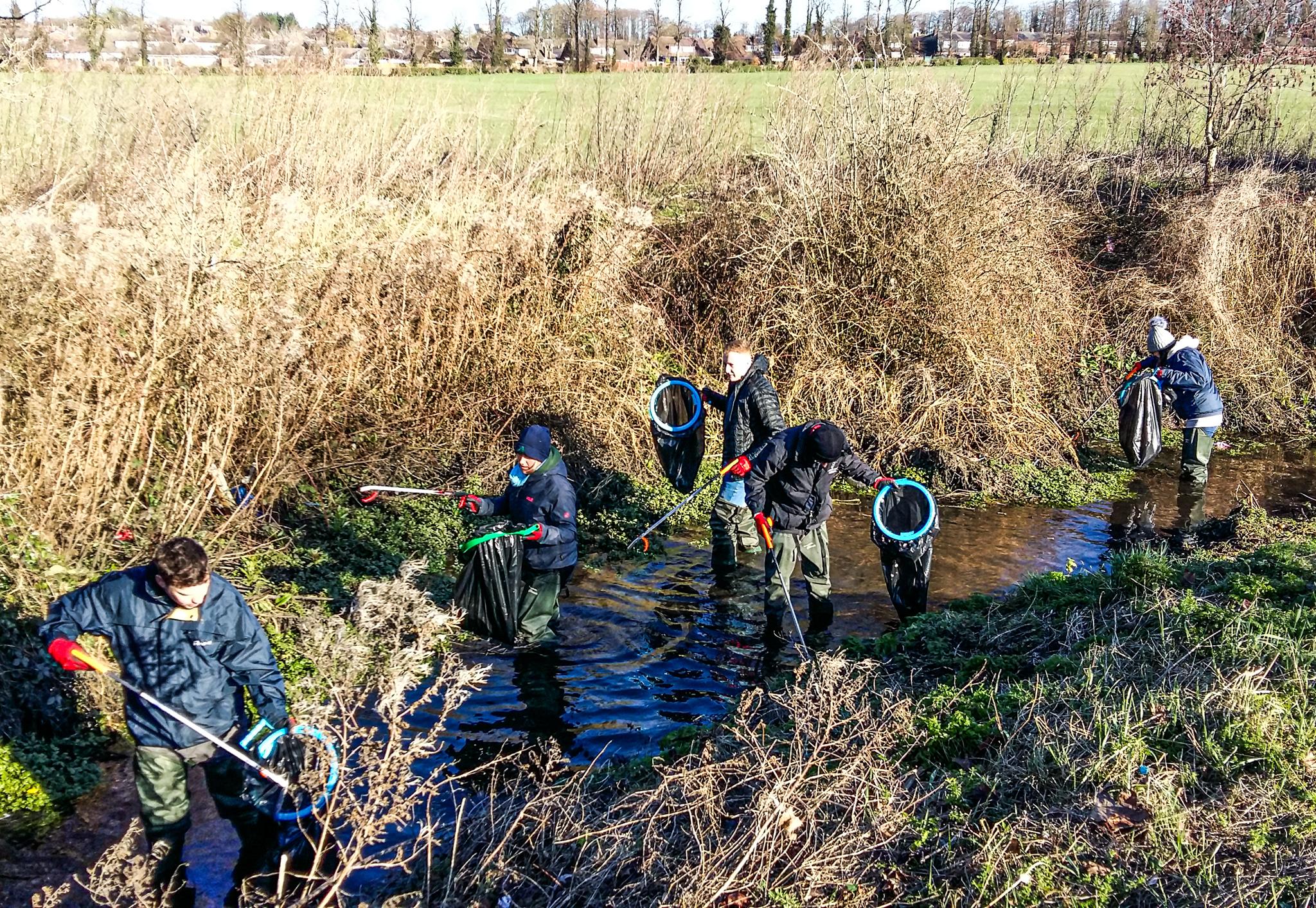 River Lea clean up RiverLUTiON (5)-2