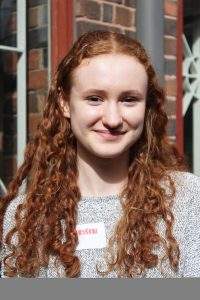 Photo of Kirsten, member of 2020 Youth Advisory Board