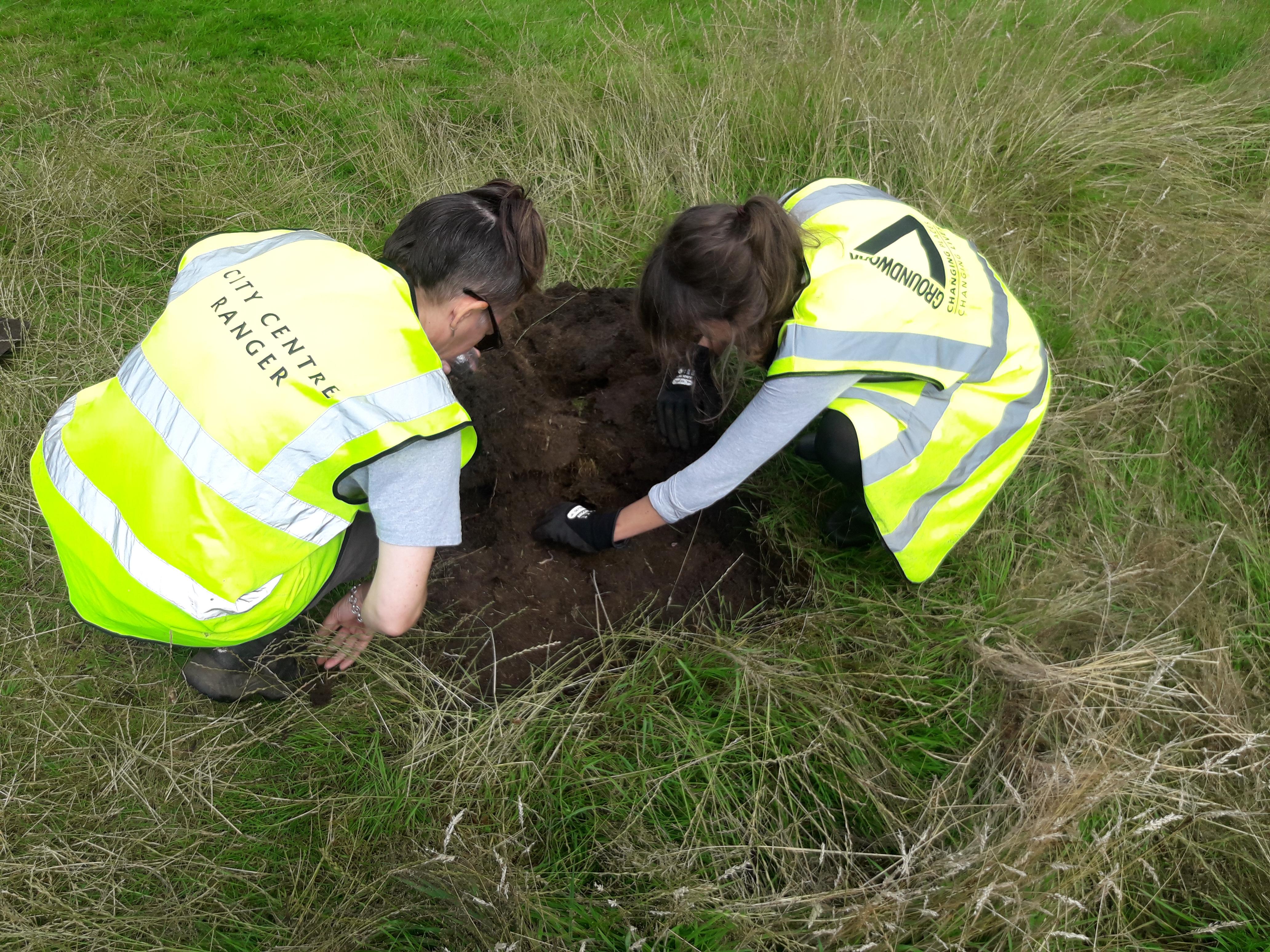Soil analysis at Turn Moss