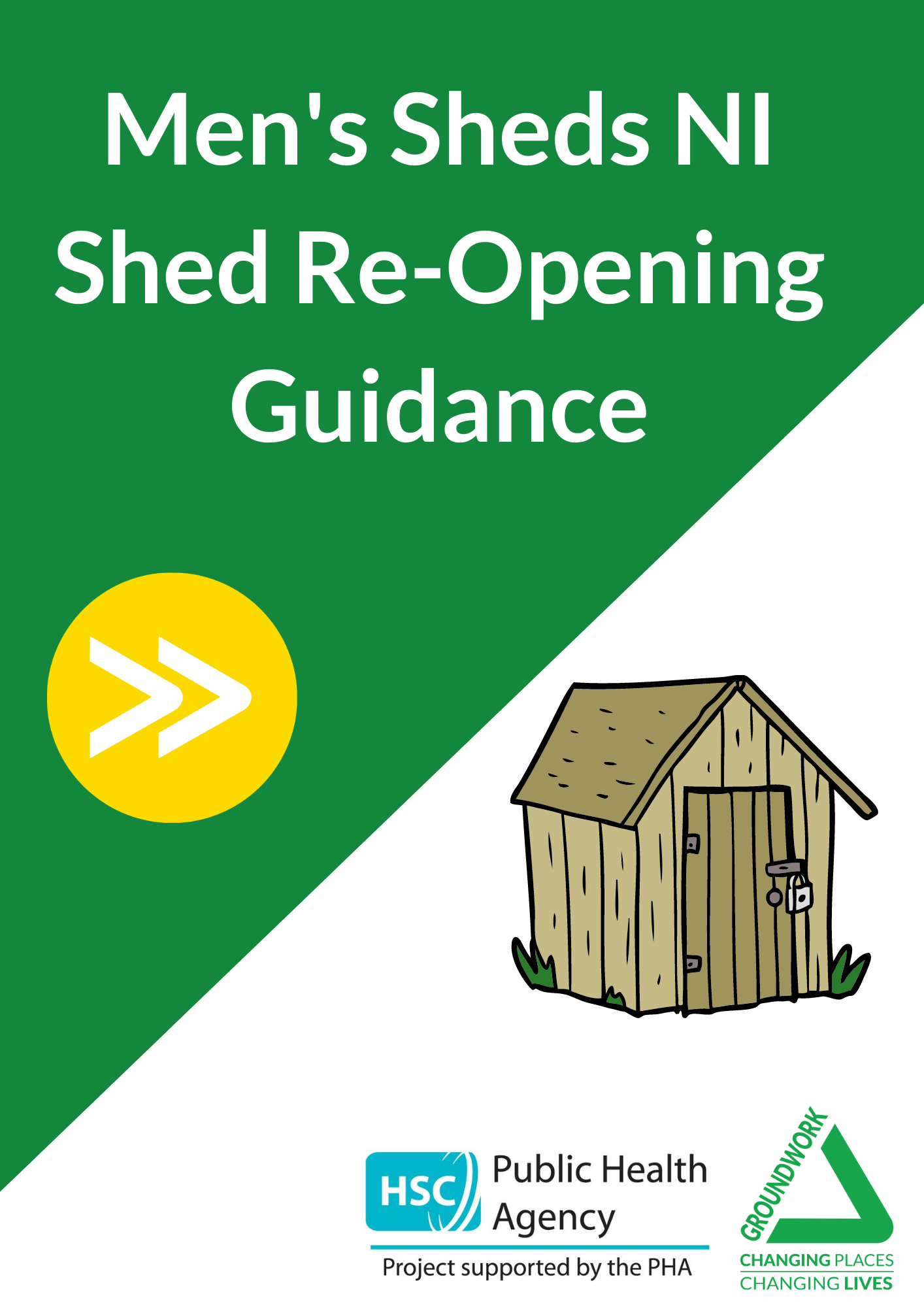Men's Shed Re-Opening Guidance