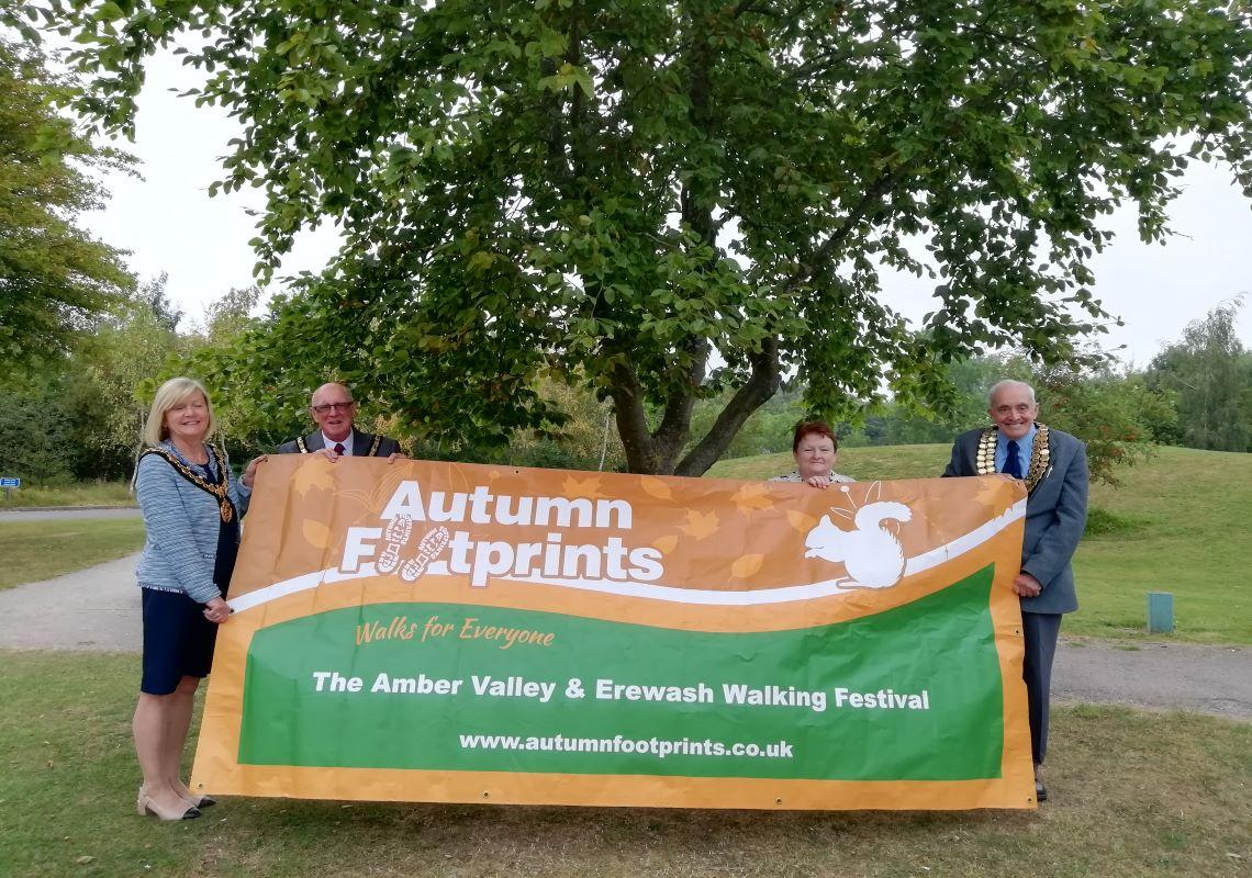 Autumn Footprints Amber Valley & Erewash Walking Festival