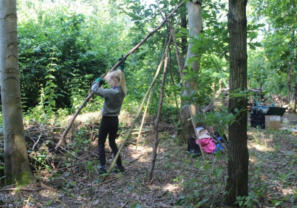 Forest School - Trafford Ecology Park