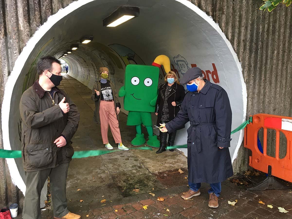 Opening artwork Latchford Tunnel