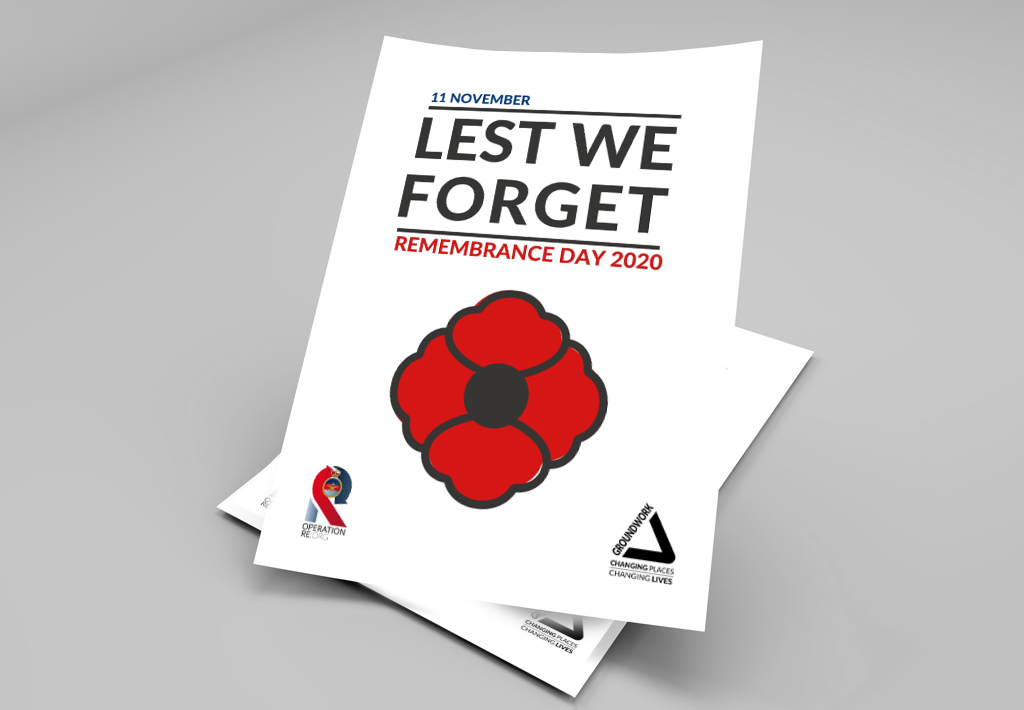 Re:Org Remembrance Day poster