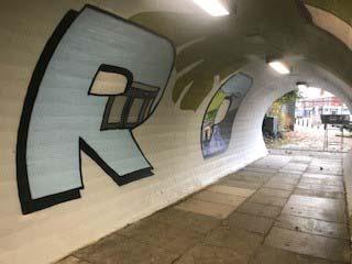 Tunnel Art Latchford