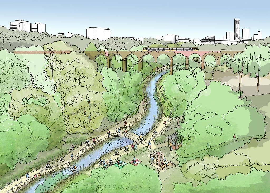 Consultation design for the river irk