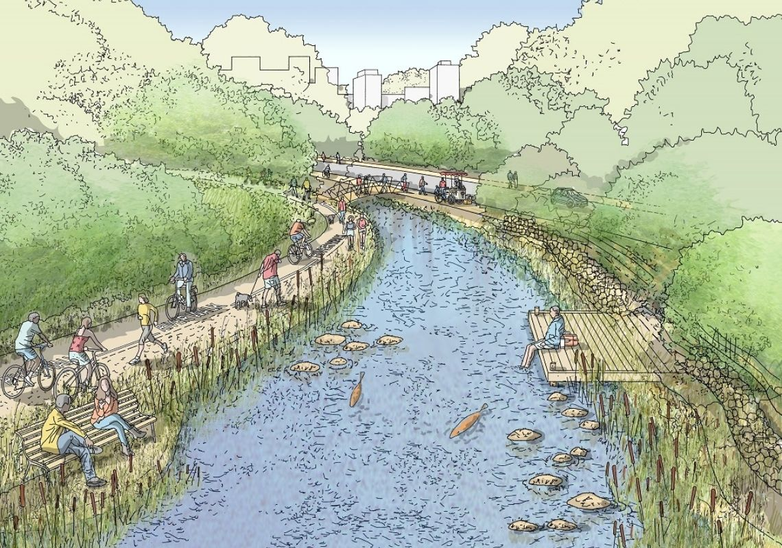 Manchester's River Valleys can Enhance the Northern Gateway