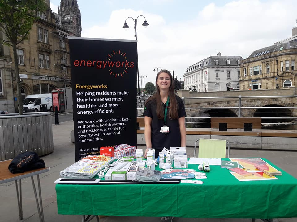 Energyworks at Volunteer festival Rochdale