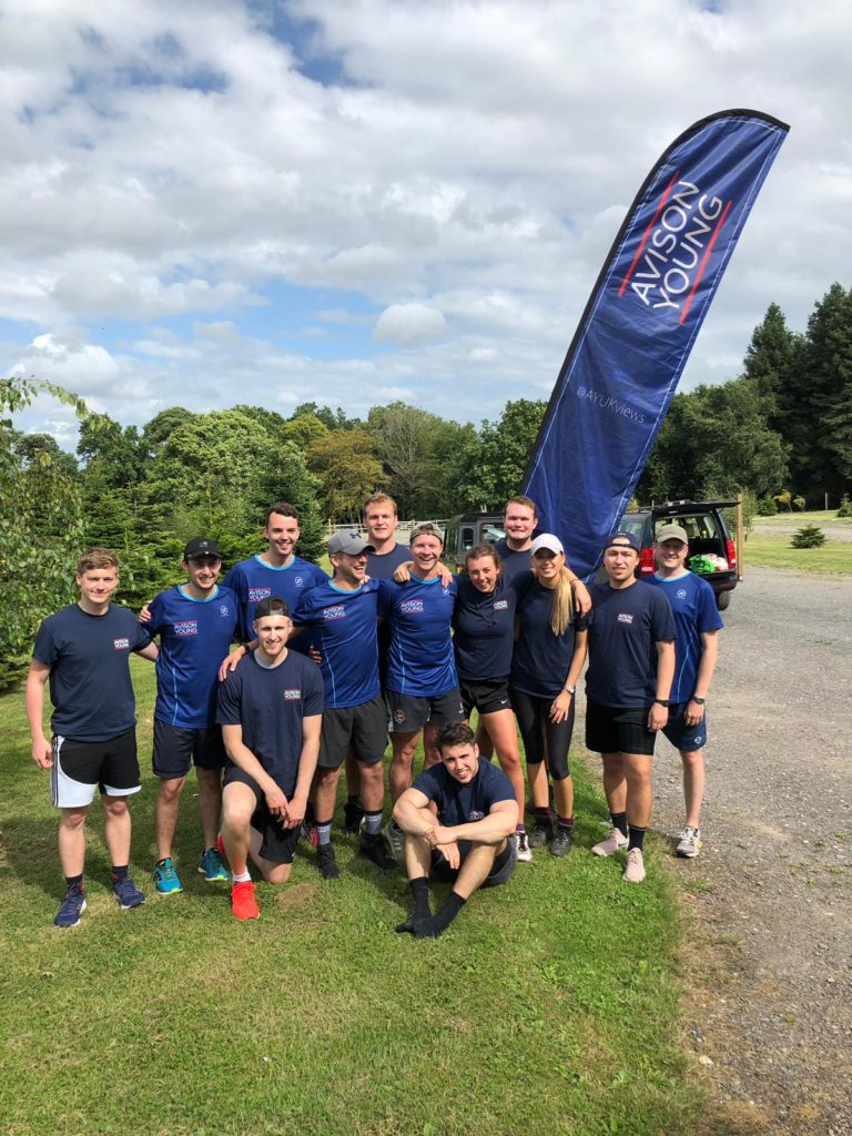Avison Young team of fundraisers