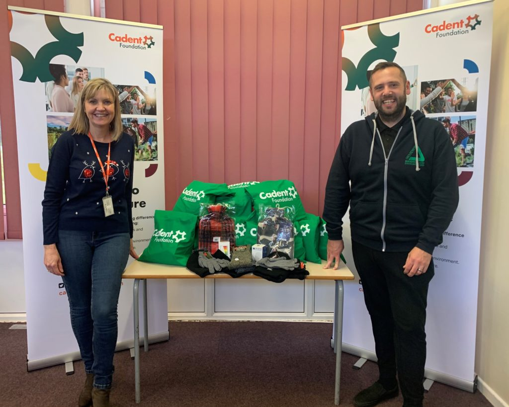 Cadent Foundation and Groundwork join forces with Winter Warmer Packs