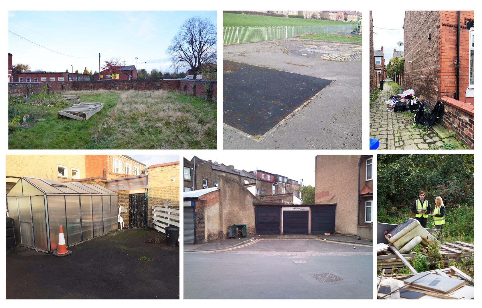 Unused areas Eco Streets