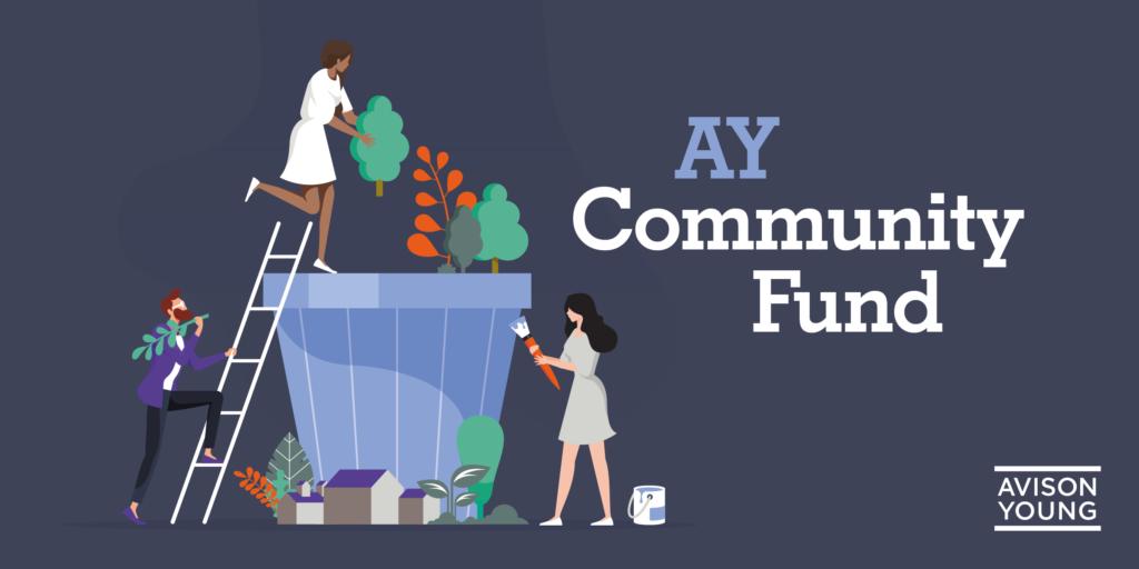 Avison Young Community Fund Logo