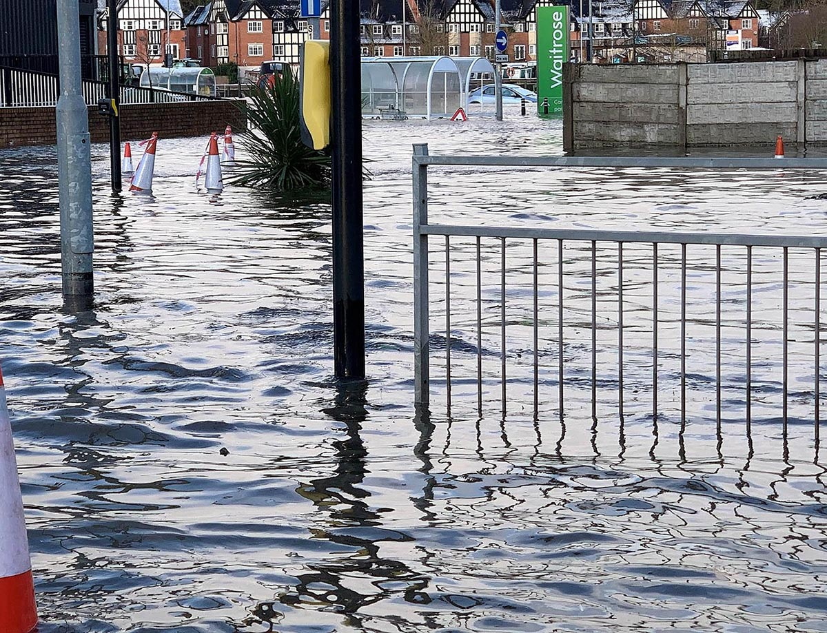 Flood Relief Fund Launched in Northwich
