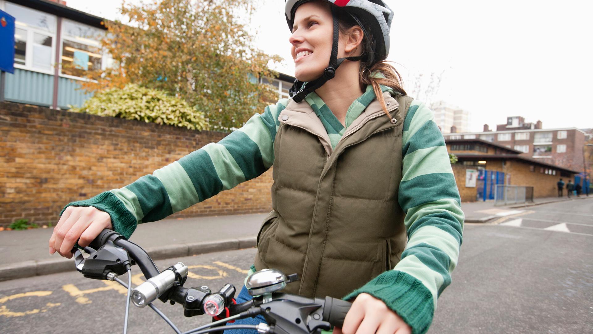 Cyclist Charlton