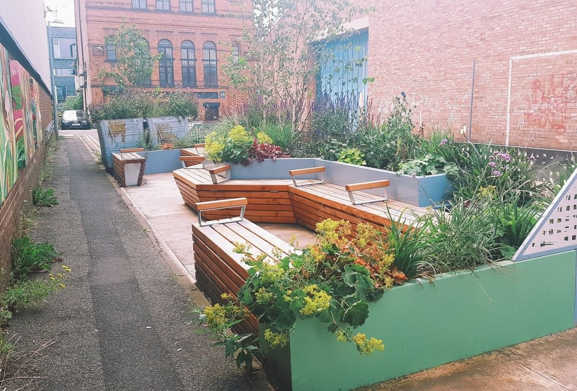 The benefit of parklets is more than meets the eye