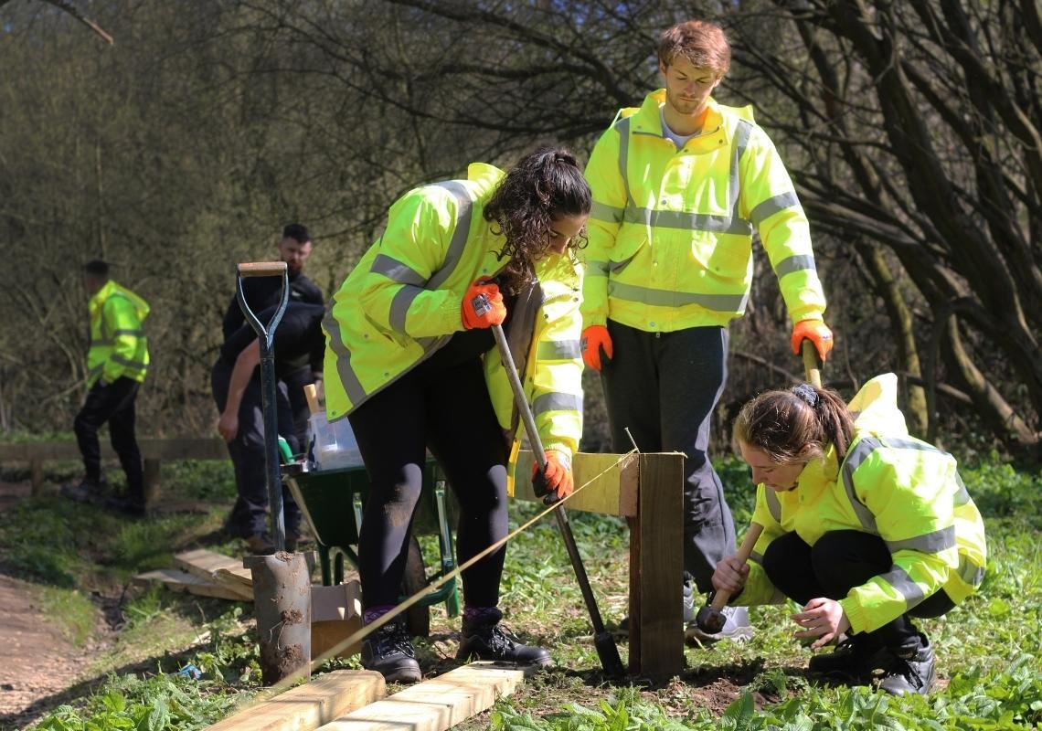 Young people start green jobs thanks to the DWP Kickstart scheme
