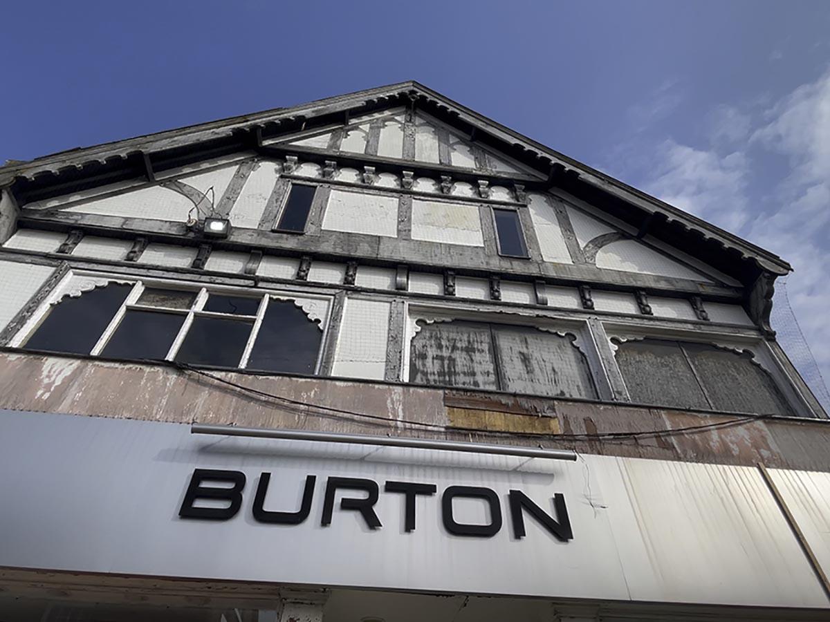 Burton building in Nrthwich