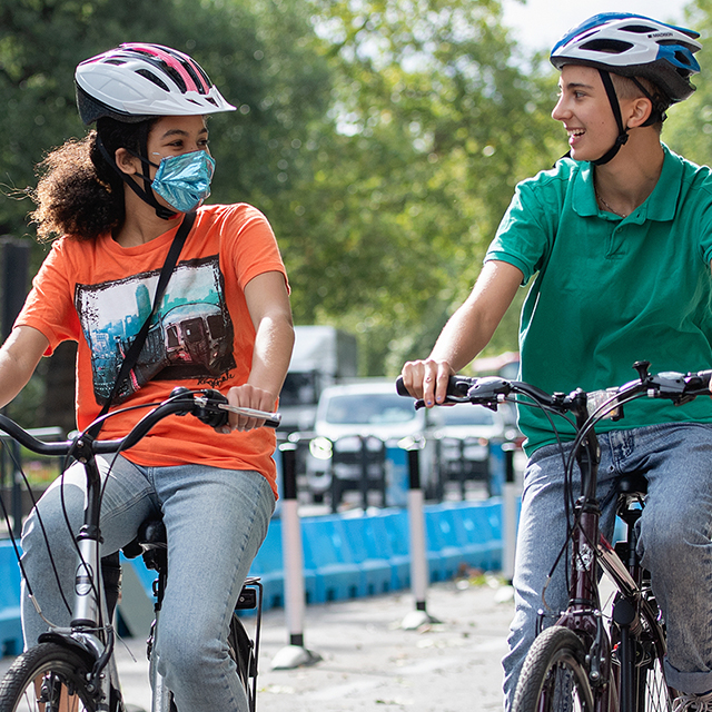 Do you want to run a project that encourages walking and cycling in your community?