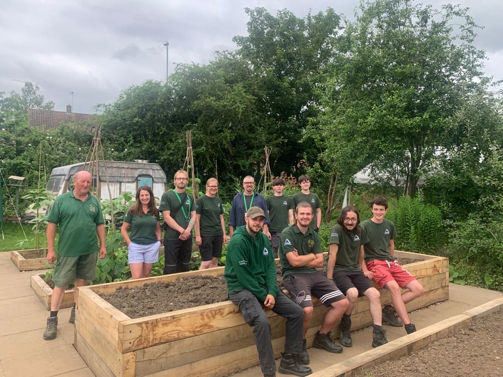 Groundwork Northamptonshire offers local unemployed adults a positive opportunity