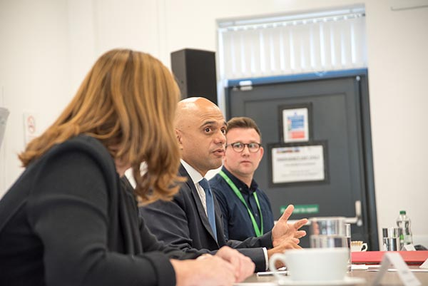 Secretary of State for Health and Social Care Rt Hon Sajid Javid MP